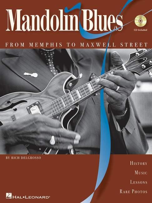 Mandolin-Blues-From-Memphis-to-Maxwell-Street-DelGrosso-riche-comprend-Tablature